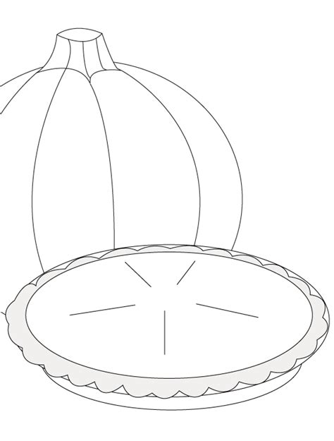 whole pie coloring page coloring pages