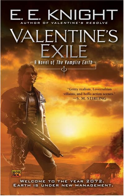exle of valentines card s exile a novel of the earth by e e