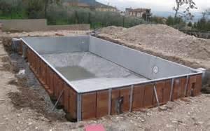 come costruire una piscina interrata permessi per costruire una piscina interrata e