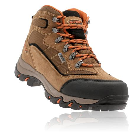 Hi Walk Outdoor Shoes hi tec mens keswick brown waterproof outdoors trail