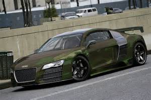 audi r8 with camo print by degraafm on deviantart