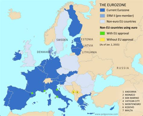 european union members political geography now eurozone gains a new member