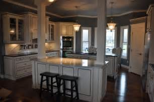 kitchen island columns new black blue white kitchen this is the kitchen in our