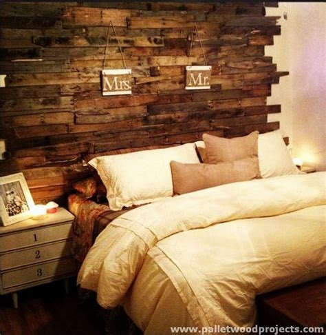 Wood Pallet Headboard Cozy Pallet Headboard Ideas Pallet Wood Projects