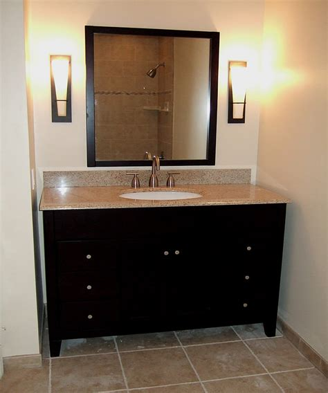 4 Ft Bathroom Vanity Striking Styles For Your Bath