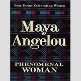 Maya Angelou Phenomenal Woman | 260 x 352 jpeg 28kB