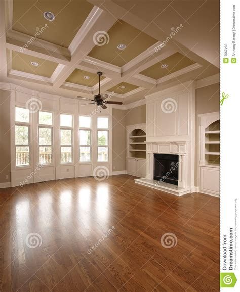 luxury home interior living room with windows stock photos image 7567283