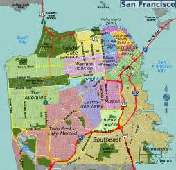 Sf Zip Code Map by File San Francisco Districts Map Png Wikimedia Commons