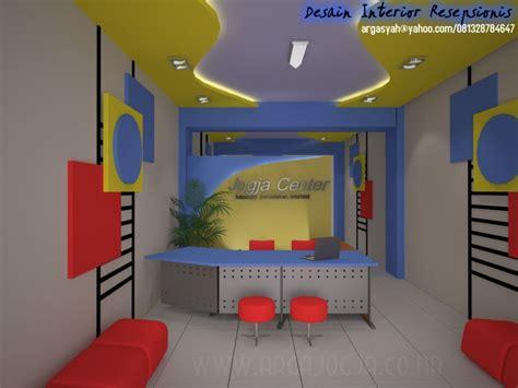 cara membuat layout ruangan kantor desain interior resepsionis dan ruang kerja kantor