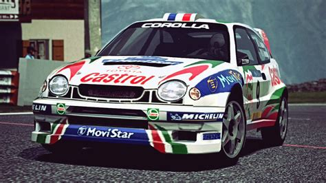 toyota rally car gt6 toyota corolla rally car 98 exhaust
