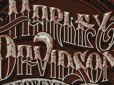 tattoo lettering harley dribbble custom lettering hd by jared mirabile