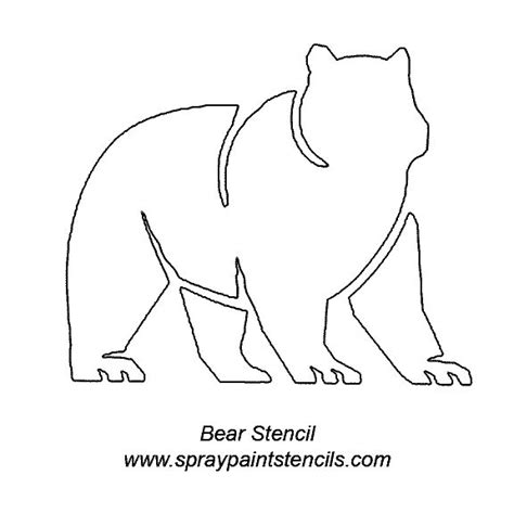 printable animal stencils 11 best images about stencils on pinterest wolves