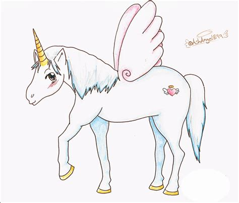 Anime Unicorn by How To Draw Anime Unicorn