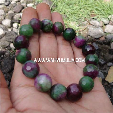 Gelang Batu Akik Untuk Wanita gelang batu ruby tanzania ziosite 2 wahyu mulia