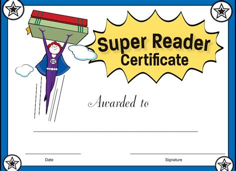 Best For Reading Free Printable Reading Awards Free Reading Award