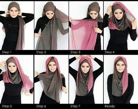 hijab trendy untuk kuliah tutorial hijab 30 tutorial hijab pashmina simple untuk sehari hari