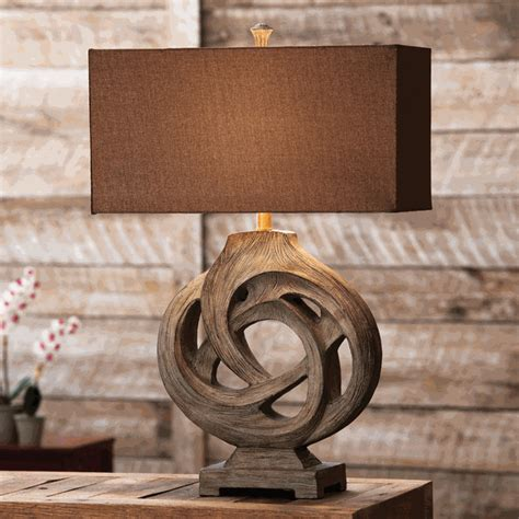 Western Dining Room Sets by Rustic Table Lamps Infinity Branch Table Lamp Black