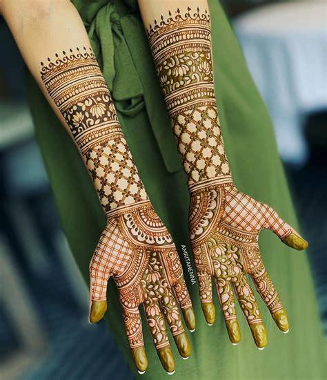top  full hand mehndi designs shaadisaga