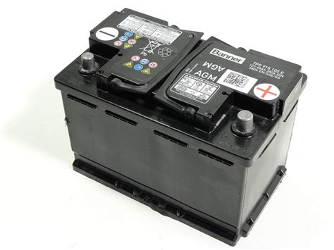 Golf 6 Autobatterie by Vw Golf 6 7 Tiguan Agm Batterie Akku Autobatterie 68ah