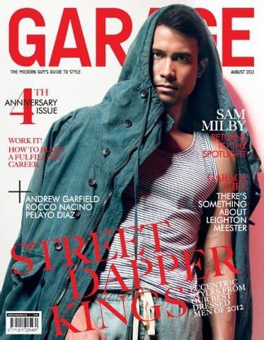 magazine covers by sam fenton at coroflot com man central sam milby magazine cover model