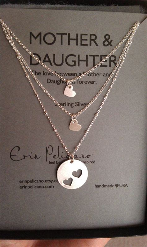 christmas gifts for mom from daughter best 25 mother daughter necklace ideas on pinterest