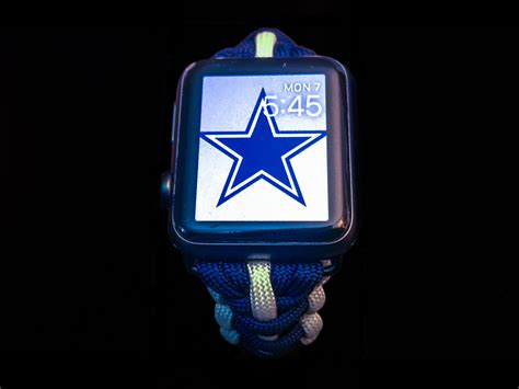 dallas apple apple watch dallas cowboys paracord band 42mm and 38mm