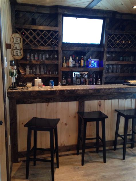 garage bar idea for the hubby s cave like this but