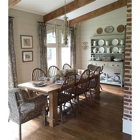 ingenious farmhouse table dining room 10 homedecort eclectic home tour farmhouse tour