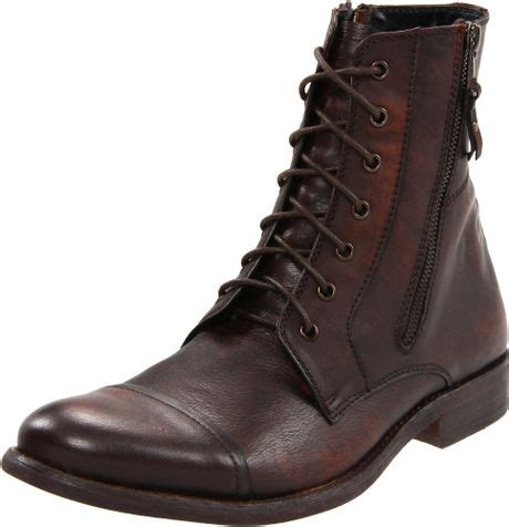 kenneth cole reaction mens hit boot in brown for