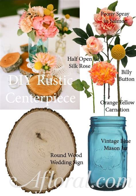 DIY Rustic Centerpiece. Create your dream floral