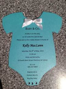 co baby shower invitation