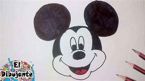 imagenes de mickey para dibujar a lapiz como dibujar a mickey mouse paso a paso el dibujante