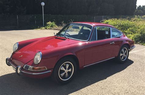 porsche old red porsche 912 1968 alliance classic