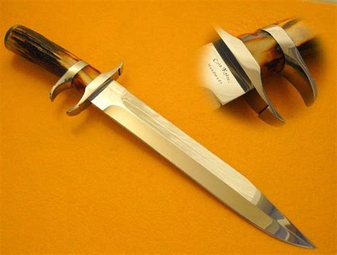 indian knives custom indian stag sub hilt knife by cote custom