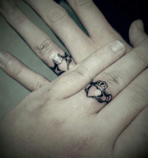 claddagh wedding ring tattoo i ll forever be loyal