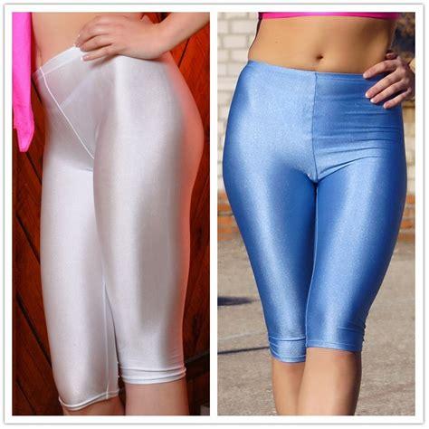 tight shiny 2015 dancing shorts high quality elastic gym yoga aerobics