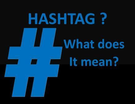 what does hashtag mean what is the hashtag symbol called k k club 2017