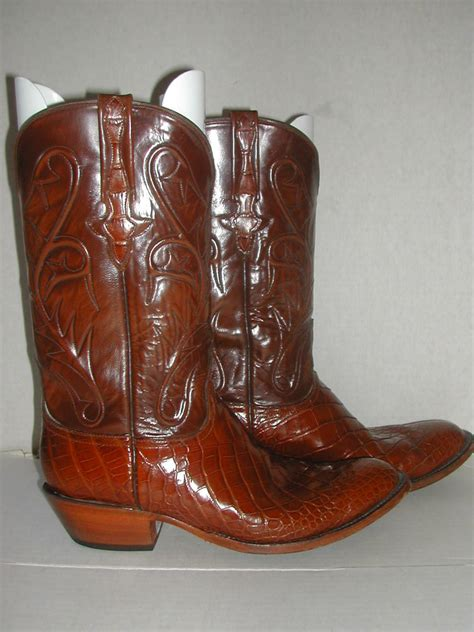 Lucchese Classics Handmade - lucchese classics handmade mens alligator belly cowboy