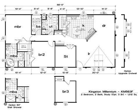 golden west homes floor plans golden west kingston millennium floor plans 5starhomes manufactured homes