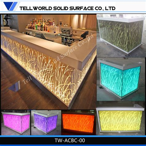restaurant bar tops for sale china iso approved modern commercial led restaurant counter cashier counter top for