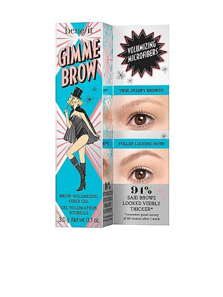 Benefit Gimme Brow 01 Sle Size benefit gimme brow volumising fibre gel 01 light house of fraser
