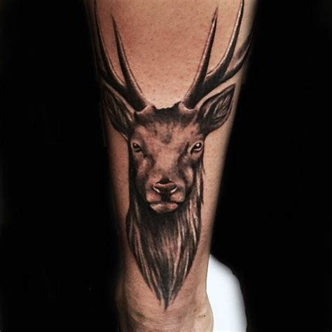 cool deer tattoos 90 deer tattoos for manly outdoor designs