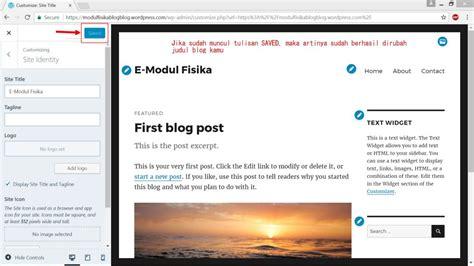 Modul Membuat Blog Di Wordpress   tutorial membuat e modul berbasis blog wordpress guru