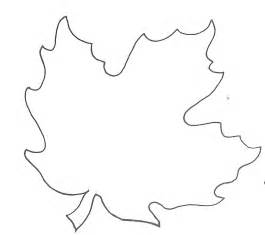 maple leaf template glenda s world leaf templates