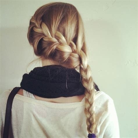 cute girl hairstyles katniss braid katniss braid on tumblr