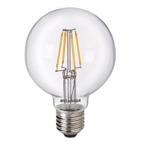 Led Globe Light Bulb G80 Globe Led Filament Light Bulb Toledo Retrofit 5w Es