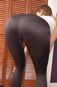 Yoga pants see them up and see the girls in yoga pants is the real