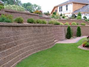 Retaining Wall Ideas For Backyard 1000 Images About Erica S Backyard On Sloped Backyard Retaining Walls And Terraced