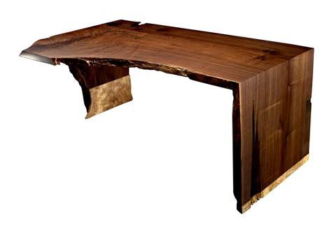 slab wood desks custom furniture lighting