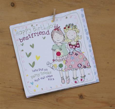 card friend happy birthday best friend card by molly mae